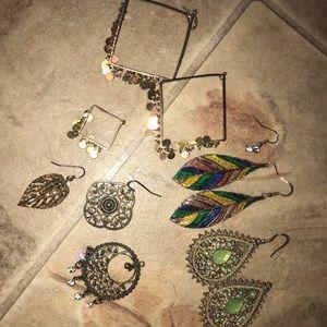 10 piece earring bundle set variety